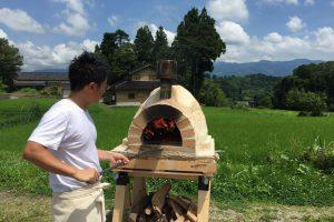 0714井上さんピザ窯